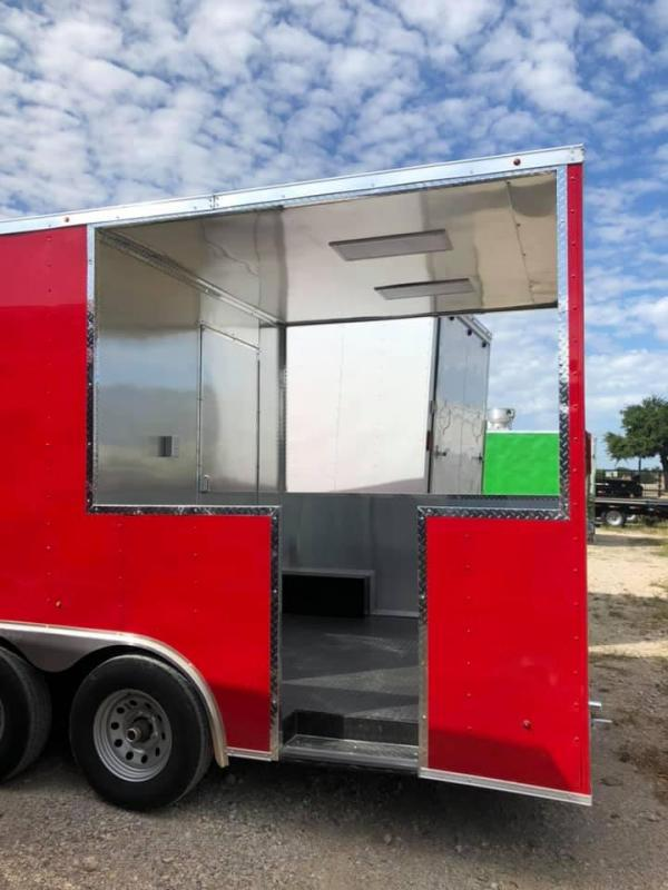 8.5X20TA Vending / Concession Food Trailer2020