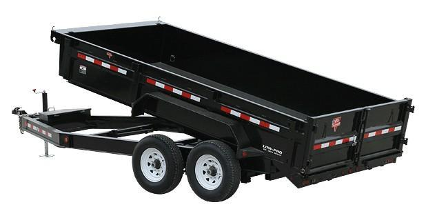 "2019 PJ 83""x 14' TANDEM AXLE LOW PRO DUMP 14K RATED"