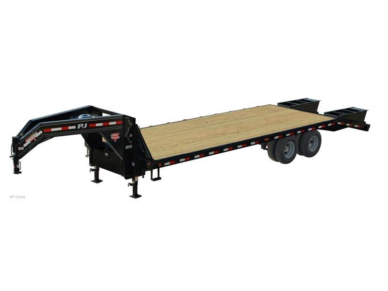 2019 PJ Trailers Classic Flatdeck with Monster Ramps (FD) Flatbed Trailer