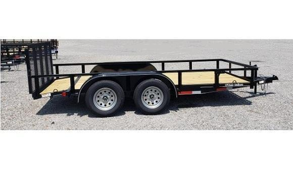 O'NEAL 6.10x14 TANDEM UTILITY WITH BEAVER TAIL