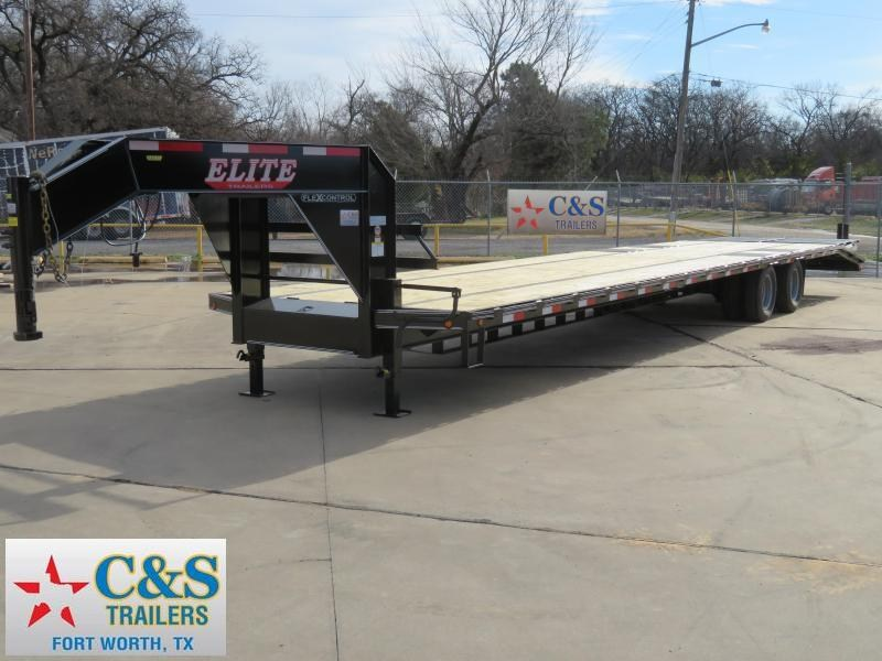2019 Elite Trailers 102 x 36 Flatbed Trailer