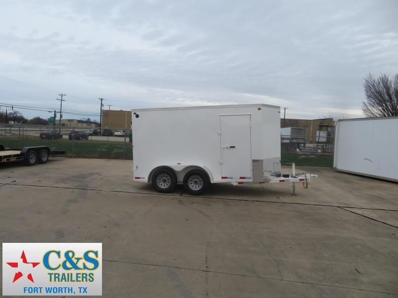 2020 Delco Trailers 6 x 12 Enclosed Cargo Trailer