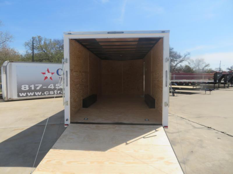 2020 Lark 8.5 x 24 Enclosed Cargo Trailer