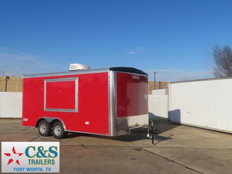 2020 Pace American 8.5 x 16 Vending / Concession Trailer