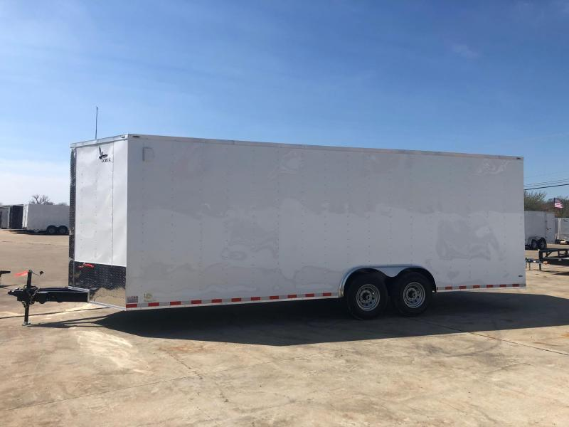 2020 Lark 8.5 X 24 Enclosed Cargo Trailer