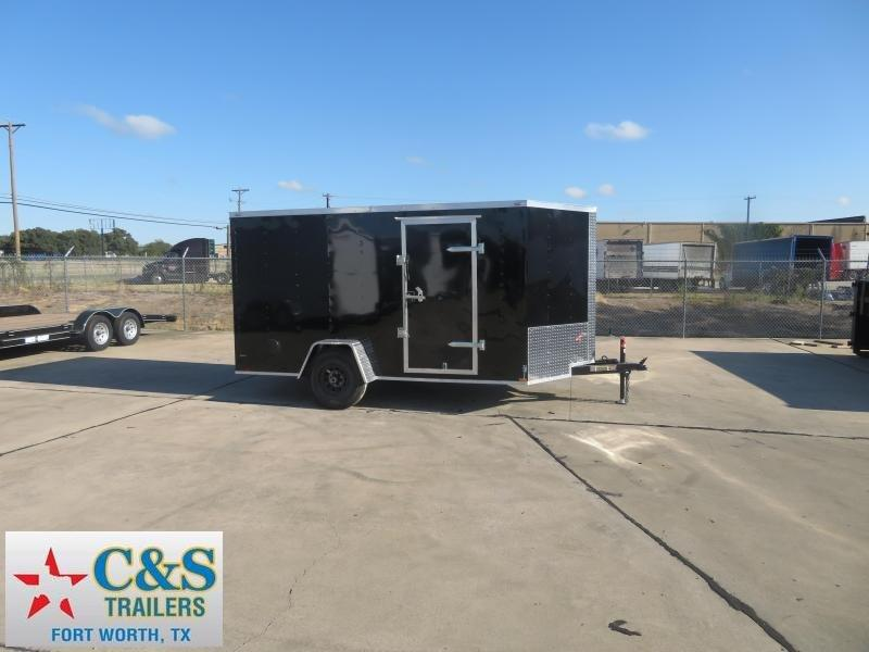 2020 Lark 7 x 12 Enclosed Cargo Trailer