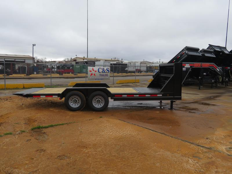 2019 Buck Dandy 83x20 GN Tilt Equipment Trailer