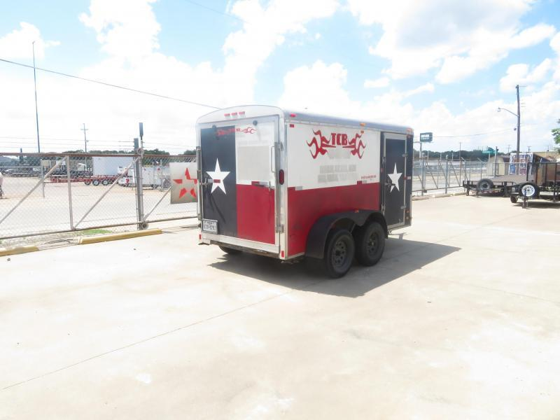Rental 42 - North American 6' x 12' Enclosed Cargo Trailer