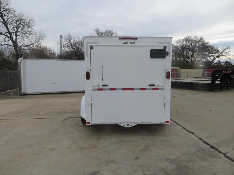 2020 Delco Trailers 6 x 12 Enclosed Cargo Trailer