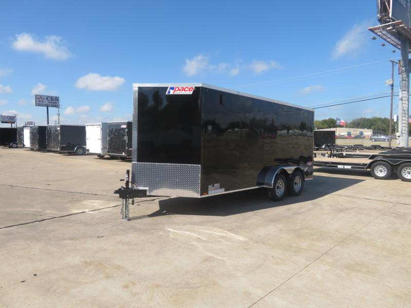 2020 Pace American 7 x 16 TA Enclosed Cargo Trailer