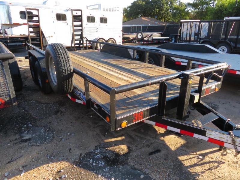 "Rental 36 - Load Trail 83"" x 18' Equipment Trailer"