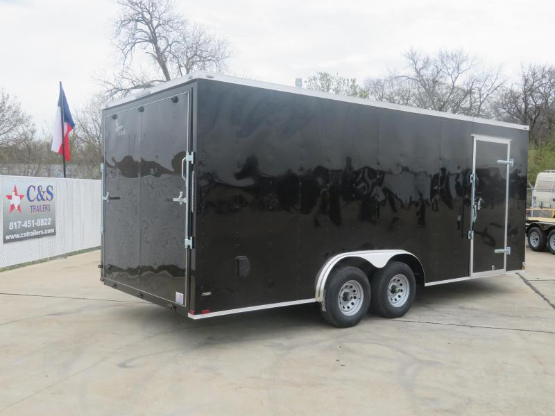 2020 Lark 8.5 X 20 Enclosed Cargo Trailer