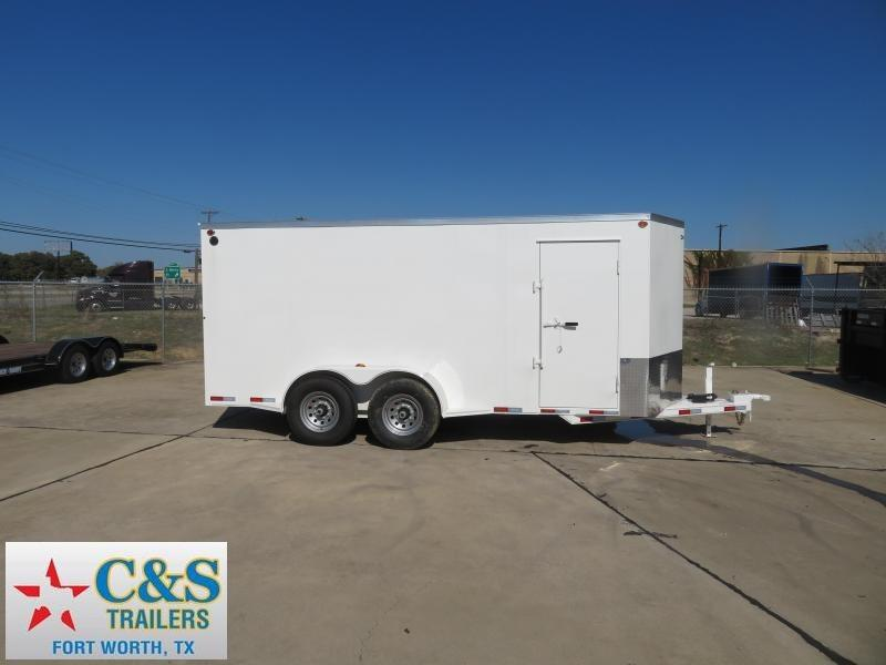 2020 Delco Trailers 80 x 16 Enclosed Cargo Trailer