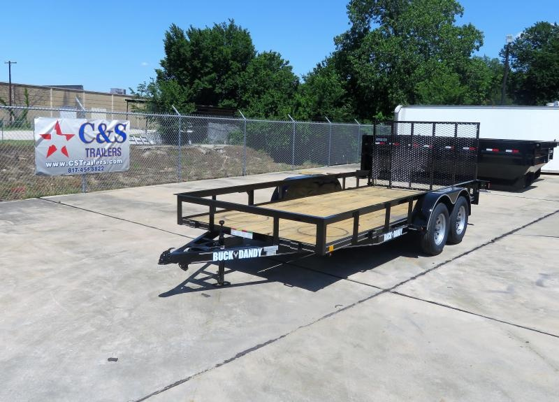 2019 Buck Dandy 77 x 16 Motorcycle Trailer