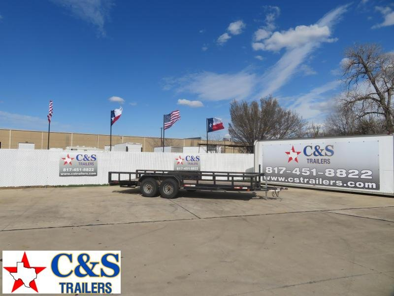 2005 Maxi Products Company Inc. 83 x 20 Utility Trailer