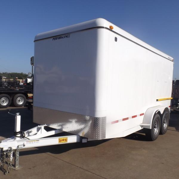 Rental 51 - Parker 7' x 16' Enclosed Cargo Trailer