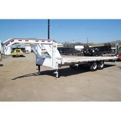 "Rental 32 - PJ Trailers 91"" x 22' Tilt Deck Equipment Trailer"