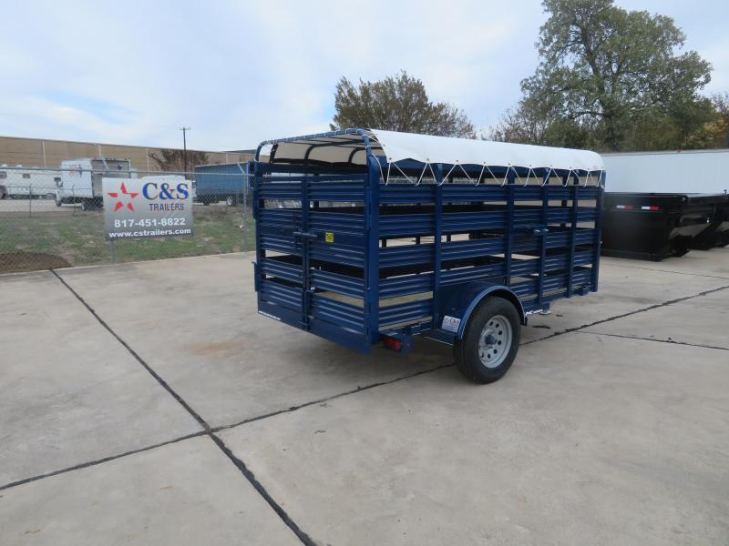 2020 TexLine 5 x 10 Livestock Trailer