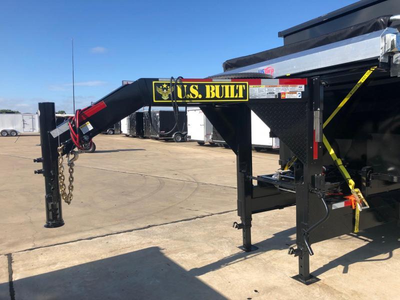 2019 U.S. Built 7 x 14 Roll Off Dump Trailer