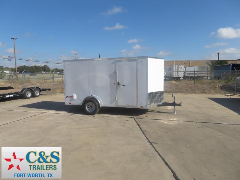 2020 Pace American 6 x 12 SA Enclosed Cargo Trailer