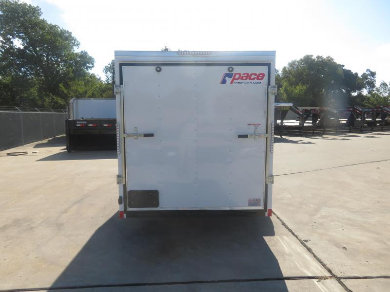 2020 Pace American 6 x 12 SA Enclosed Cargo Trailer