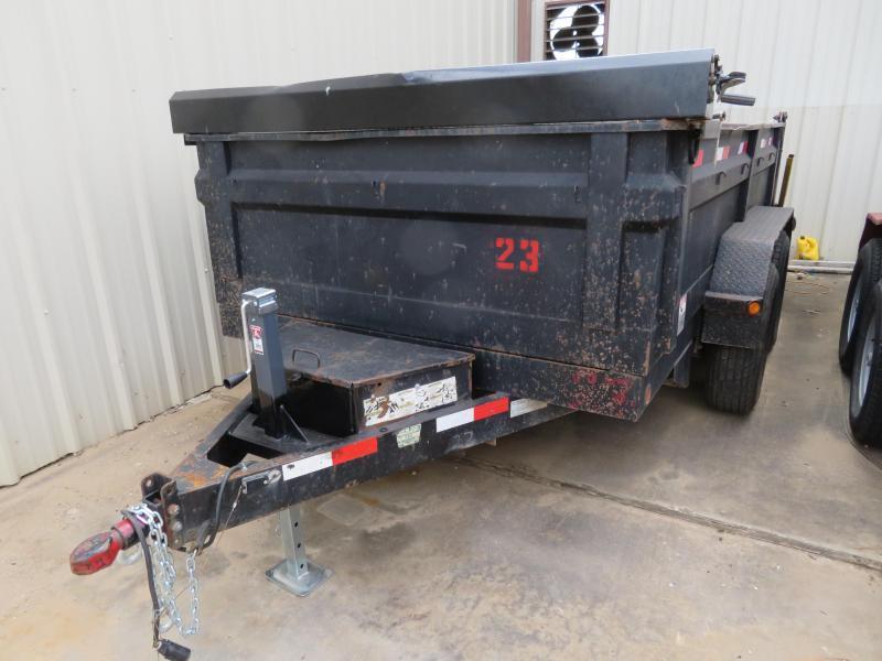 "Rental 23 - C&S 83"" x 12' Dump Trailer"