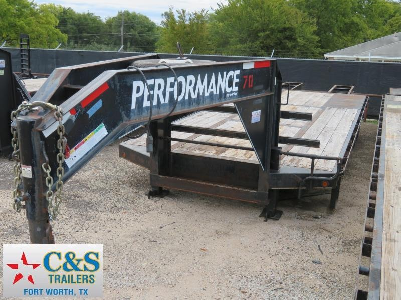 Rental 70 - 2007 Parker Trailers 20 5' Dual Tandem Axle Flatbed Trailer