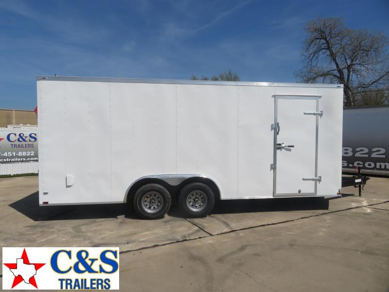 2020 Lark 8.5 x 20 Enclosed Cargo Trailer
