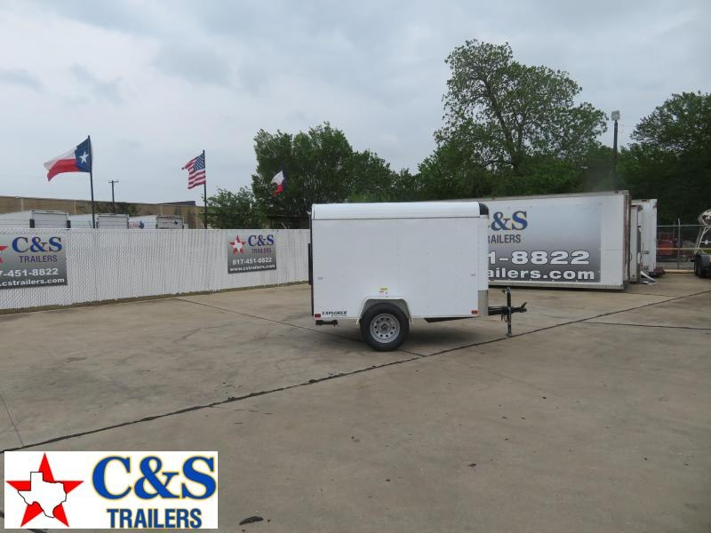 2020 Cargo Craft 5 X 8 Enclosed Cargo Trailer