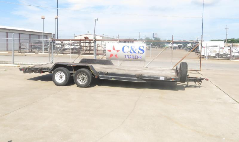 "Rental 7 - C & S  81"" x 18' Car Hauler"