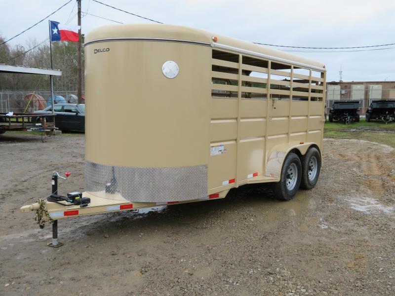 2020 Delco Trailers 6 x 16 Livestock Trailer
