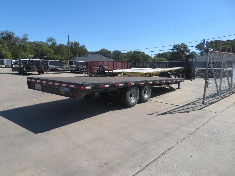 2015 Load Trail 102 x 24 Flatbed Trailer