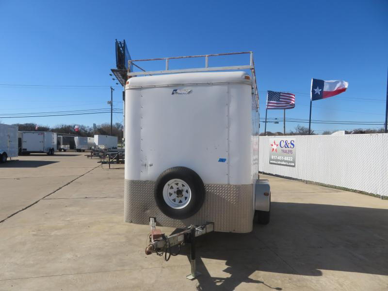2010 Pace American 6 x 12 Enclosed Cargo Trailer