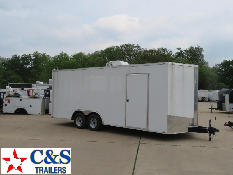 2019 Spartan Cargo 20 Office Enclosed Cargo Trailer