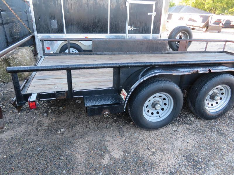 "Rental 52 - Diamond C 82"" x 16' Utility Trailer"
