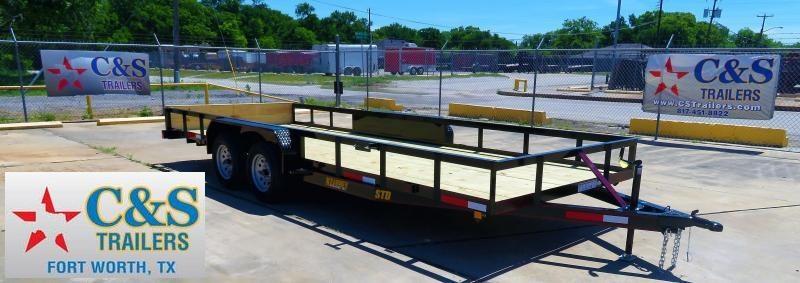 2019 Kearney 83 x 20 Utility Trailer