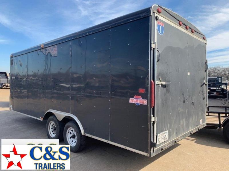 Rental 49 - 2013 Interstate 8.5 x 20 Enclosed Car / Racing Trailer