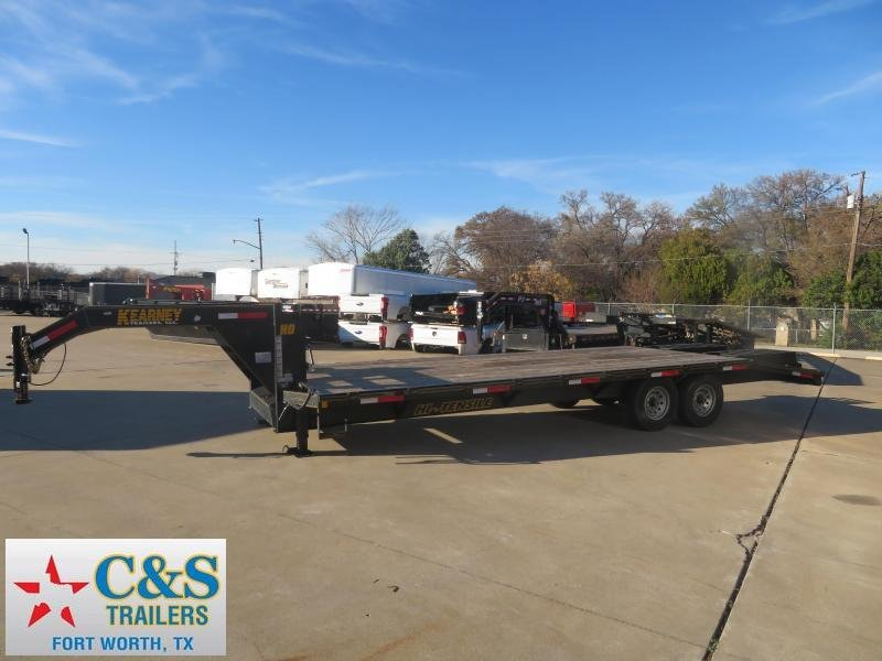 2019 Kearney 102 x 25' Equipment Trailer