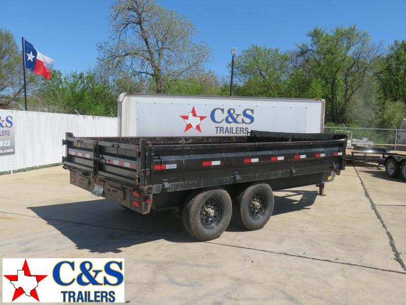 2012 Big Tex Trailers 83 x 14 Dump Trailer