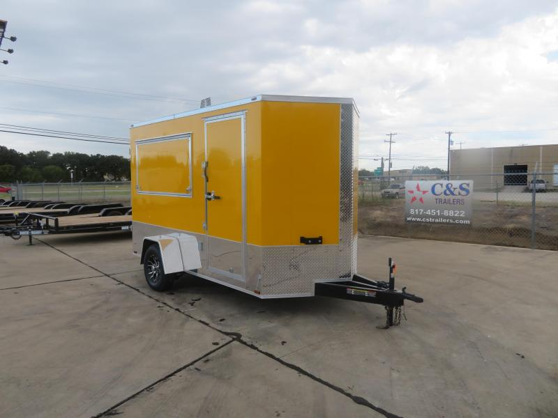 2019 Lark 6 x 12 Vending / Concession Trailer