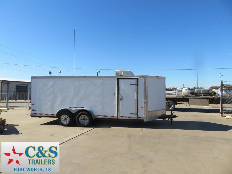 2007 Cargo Mate 7 x 20 Enclosed Cargo Trailer