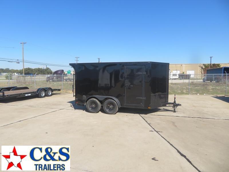2020 Lark 7 X 12 Enclosed Cargo Trailer