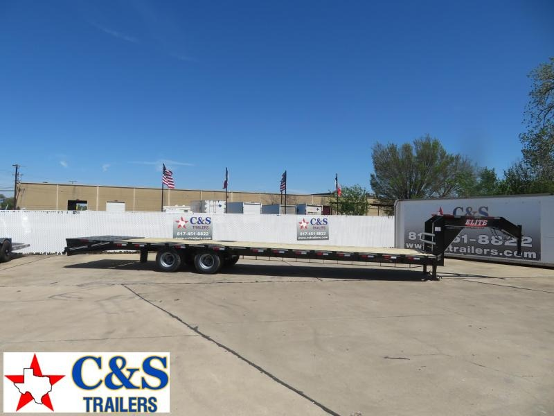 2020 Elite Trailers 102 x 32 Flatbed Trailer