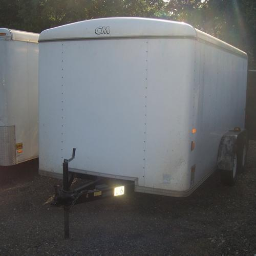 Rental 16 - CM 7' x 14' Enclosed Cargo Trailer