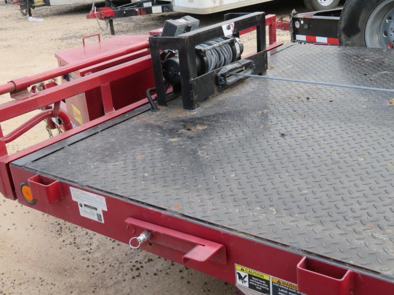 Rental 3 - 2015 Load Trail 16 Tilt Equipment Trailer