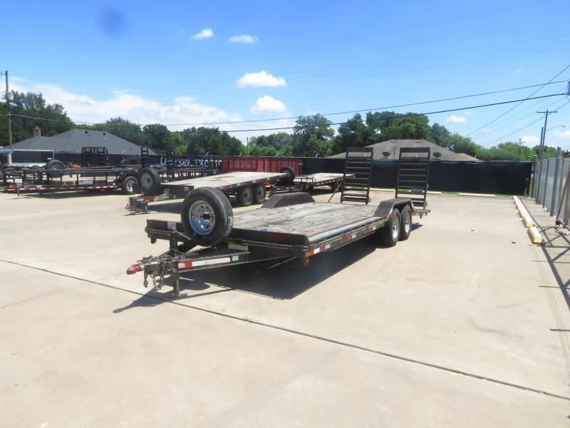 Rental 34 - Big Tex 16'+6' DOVE TAIL Car Hauler