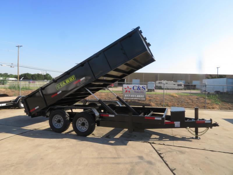 2019 U.S. Built 7 X 16 Dump Trailer