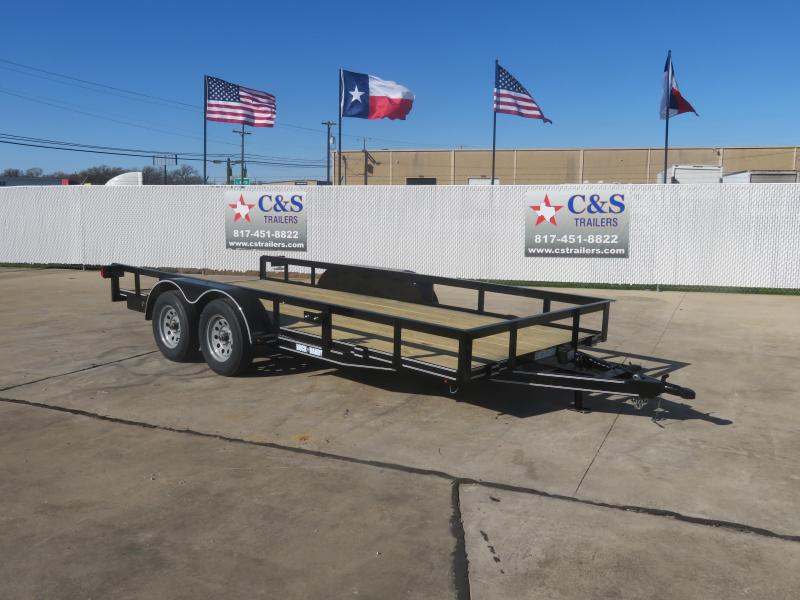 2020 Buck Dandy 77 X 16 Utility Trailer