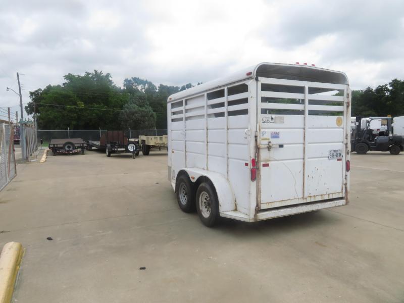 Rental 63 - 1998 CM Trailer 12 Horse Trailer Livestock Trailer