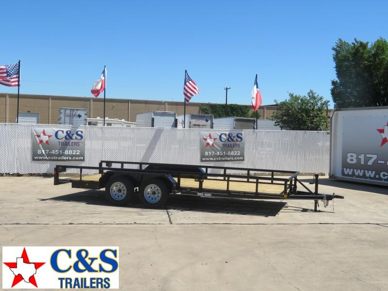 2020 Buck Dandy 83 x 18 Utility Trailer